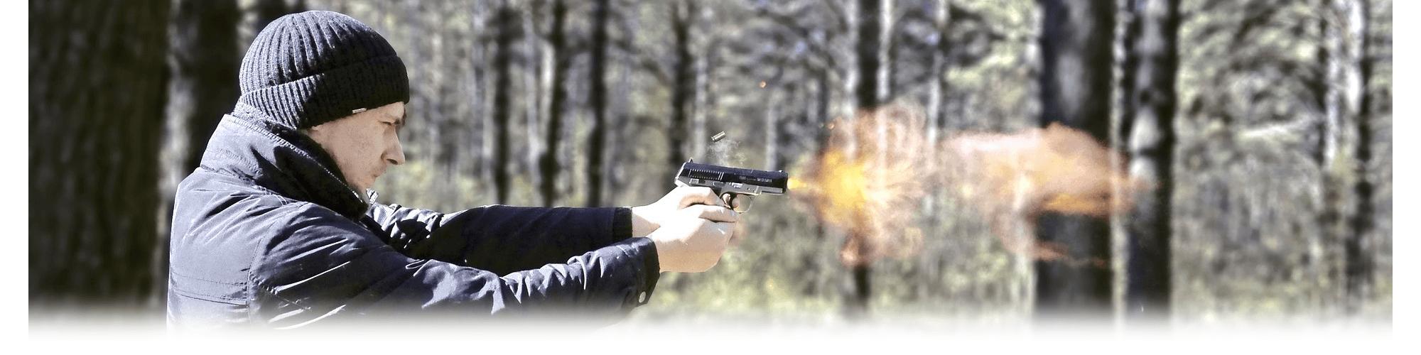 Pistool schieten